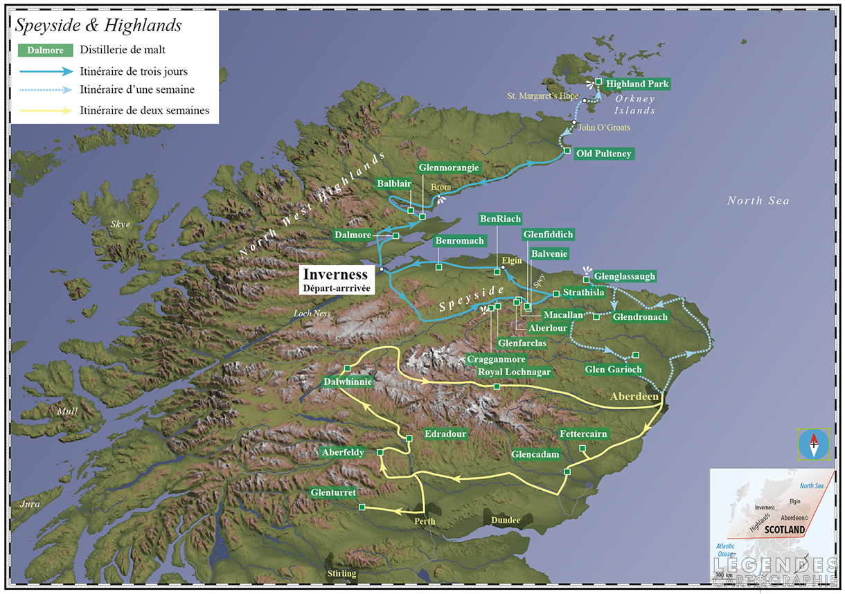 Distilleries du Speyside